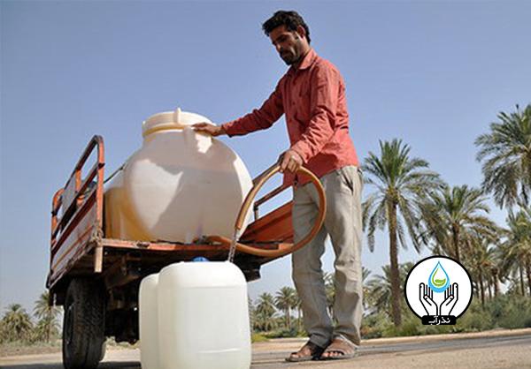 کمبود آب شمال خوزستان